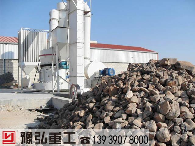 雷蒙磨厂家生产线现场